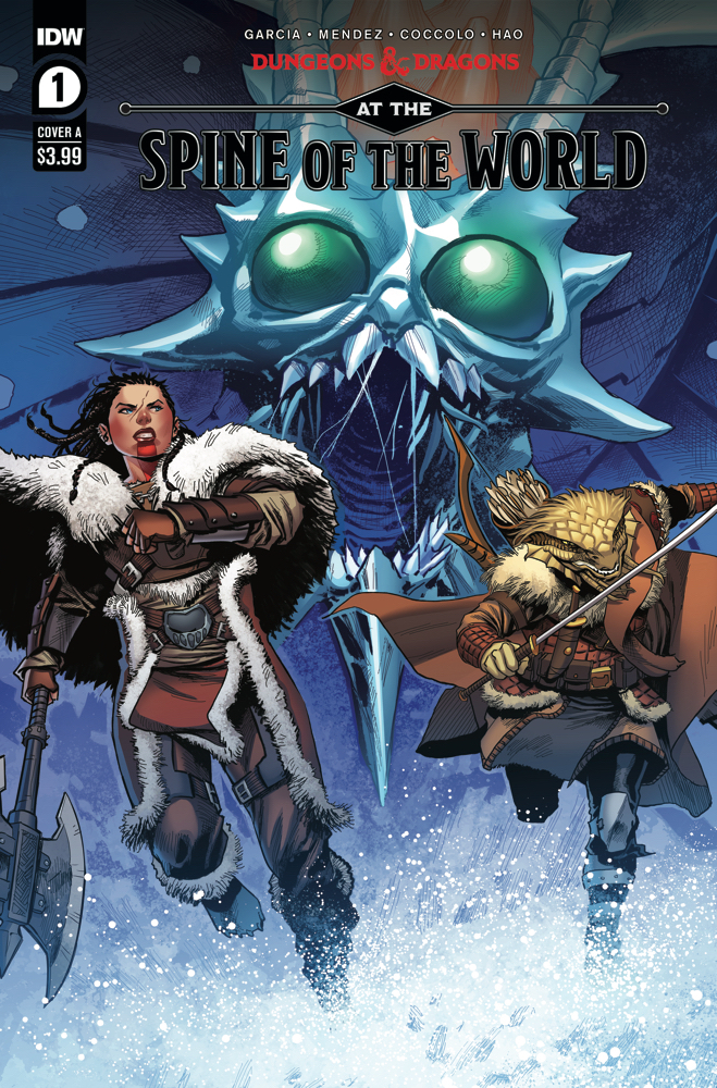 Comic Book Review: Dungeons & Dragons: At the Spine of the World #1
