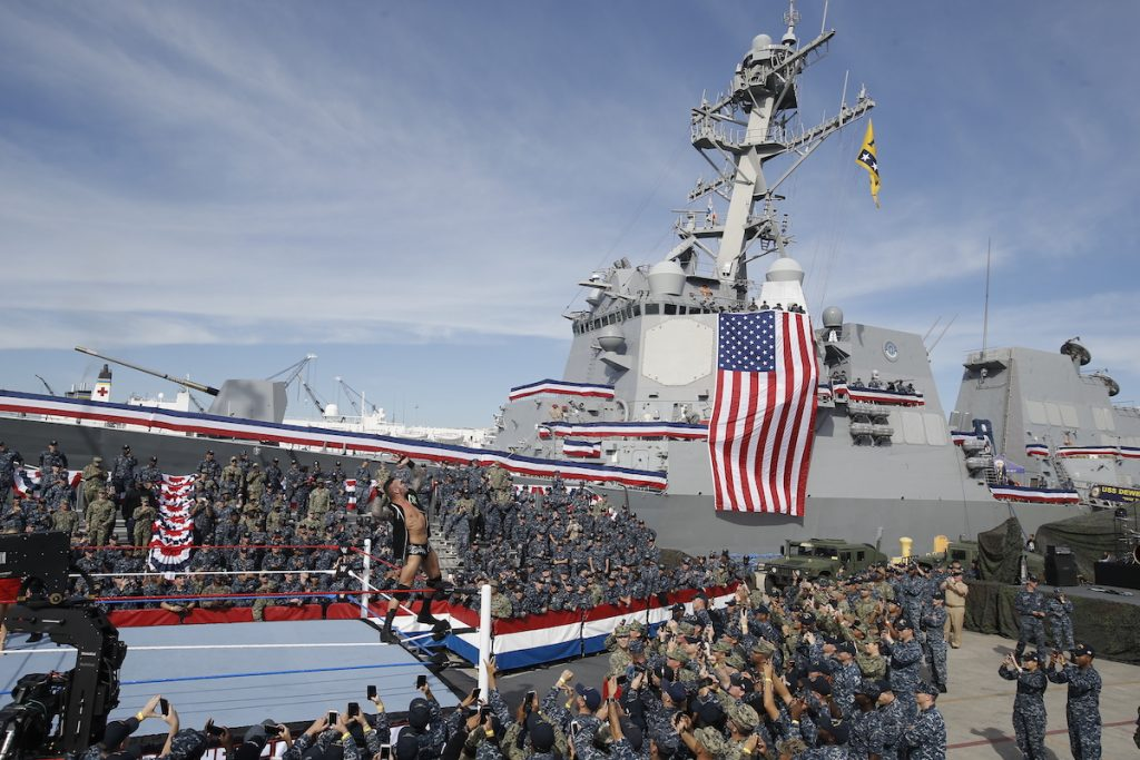 18th Annual WWE Tribute to the Troops to Air on FOX