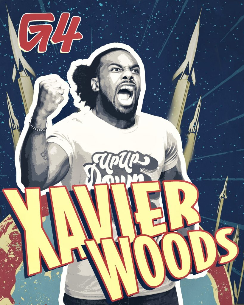 G4 Signs WWE Superstar Xavier Woods