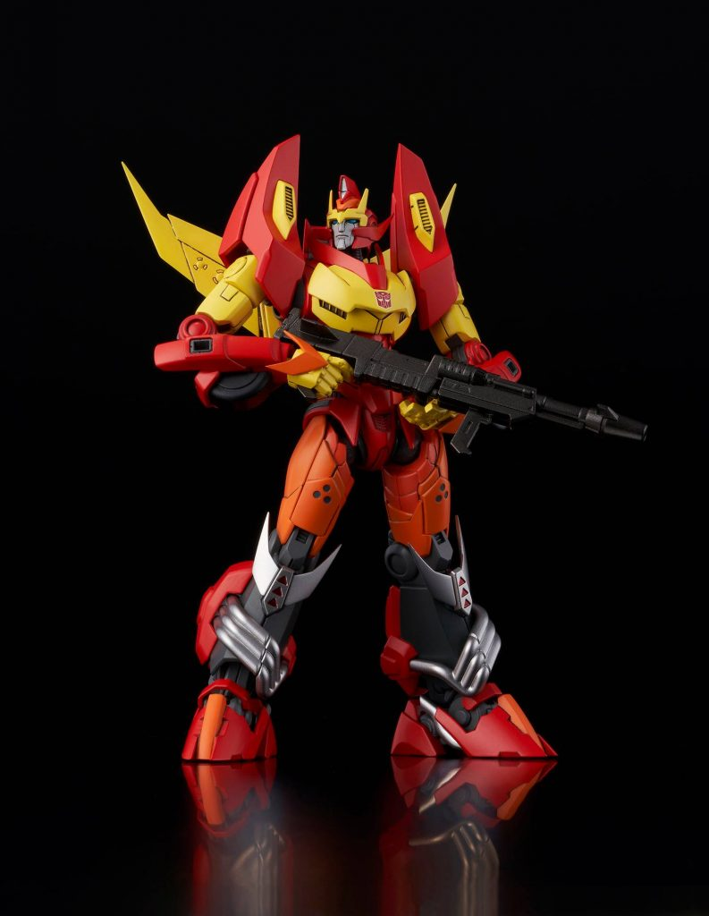 Transformers Furai Rodimus (IDW Ver.) Model Kit Coming Soon from Flame Toys and Bluefin