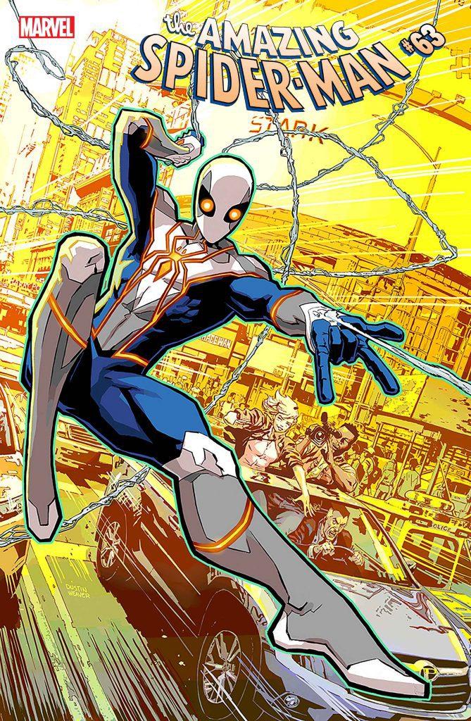 Spider-man's New Costume Revealed In Amazing Spider-Man #61