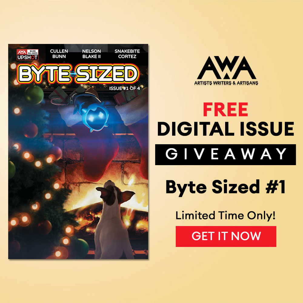 Read Byte Sized #1 from AWA Studios for FREE for the Holidays