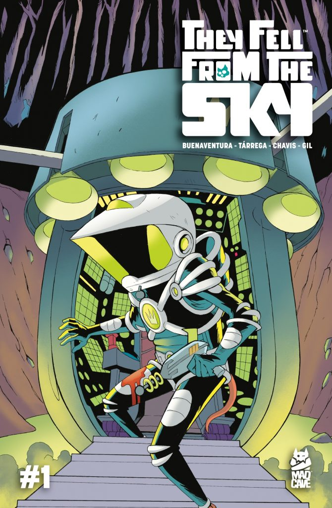 Comic Book Review: They Fell From the Sky #1