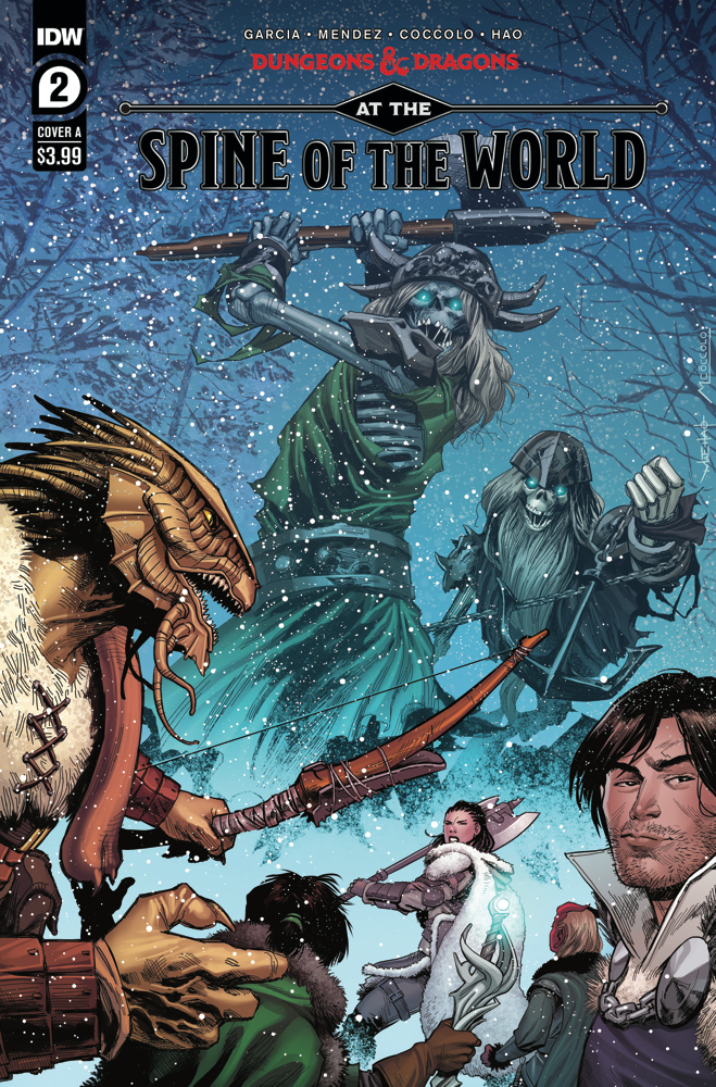 Comic Book Review: Dungeons and Dragons- At the Spine of the World #2
