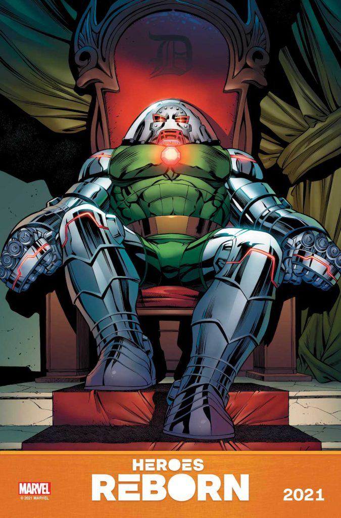 Marvel Comics Teases Mash-Ups in Heroes Reborn