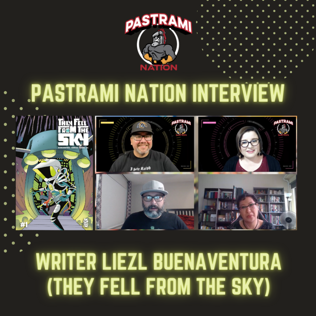 Pastrami Nation Interview- Writer Liezl Buenaventura (They Fell from the Sky-Mad Cave Studios)
