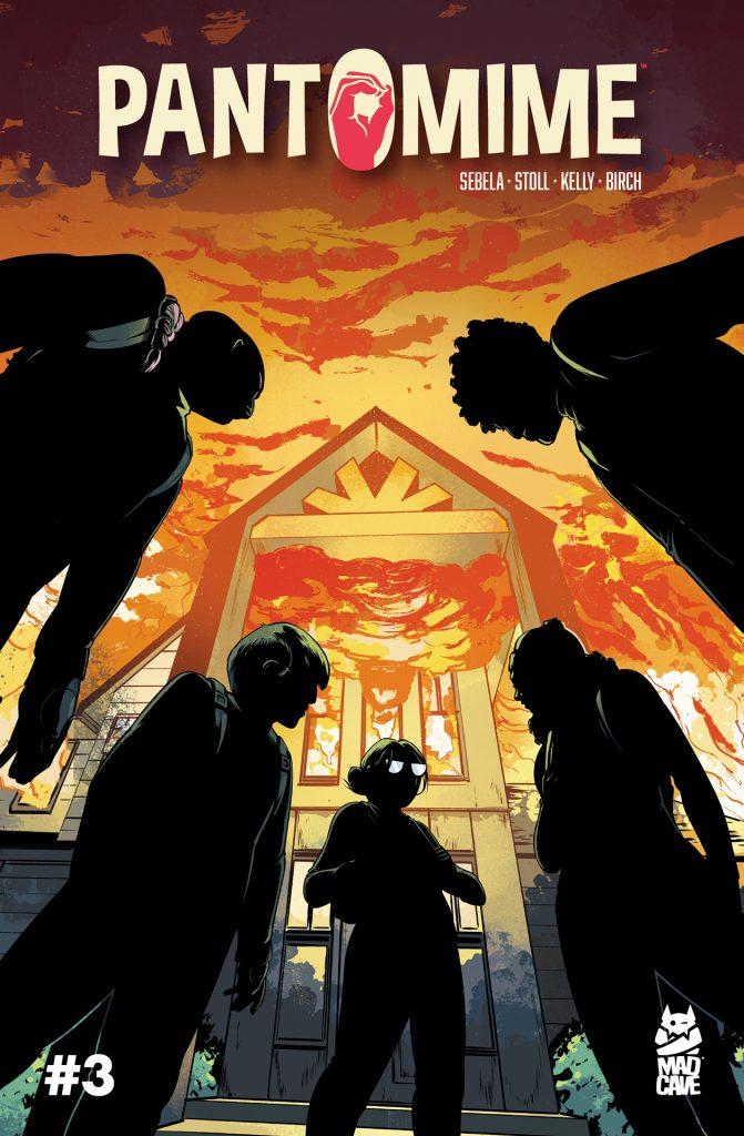 Comic Book Review: Pantomime #3 + ASL Review