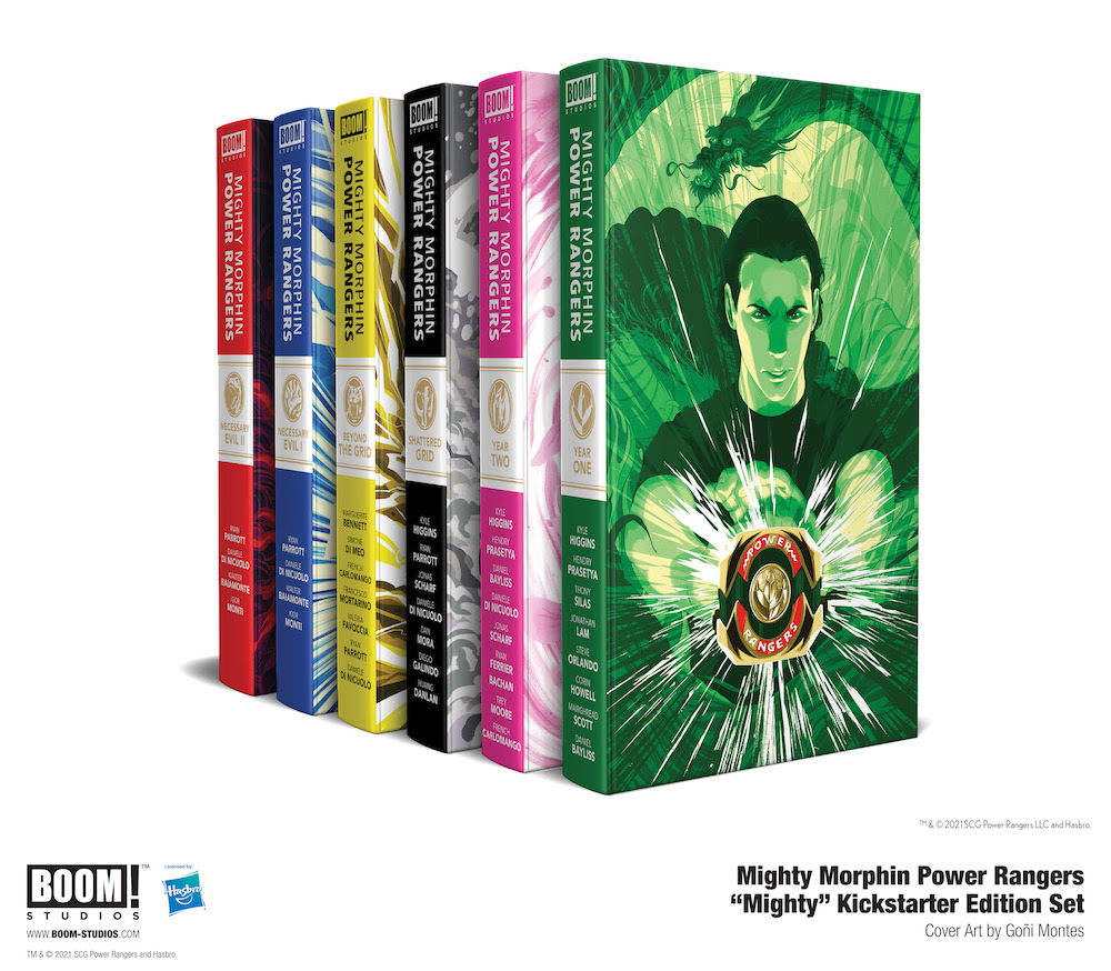 Limited Edition MIGHTY MORPHIN POWER RANGERS Hardcovers Launch For Pre-Order Through Kickstarter