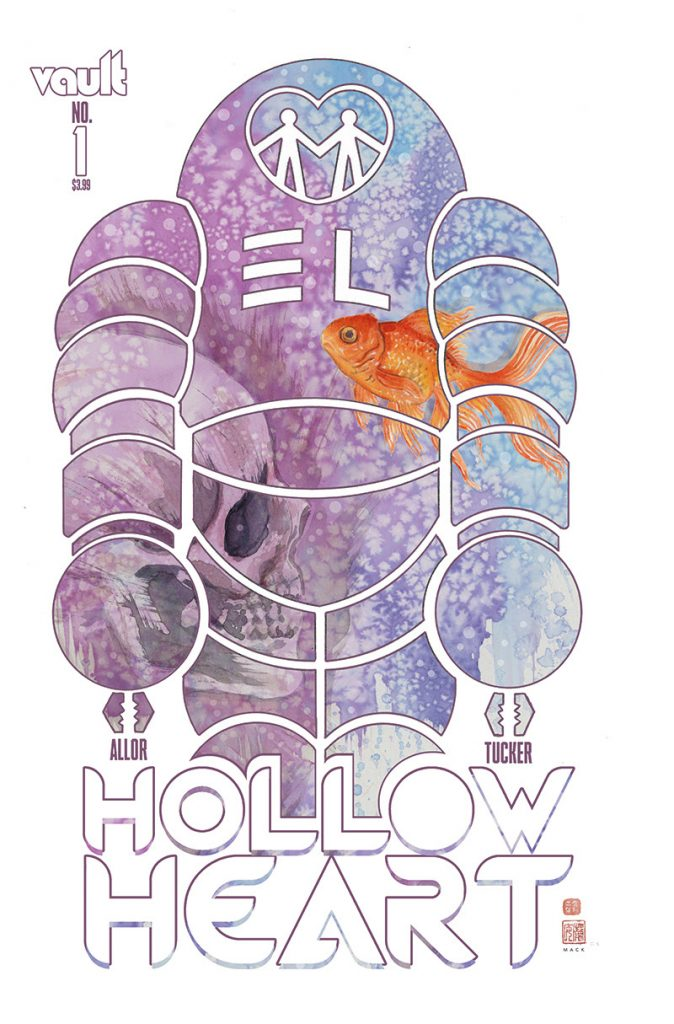 Vault Announce Gorgeous New David Mack Variant Covers for Hollow Heart #1
