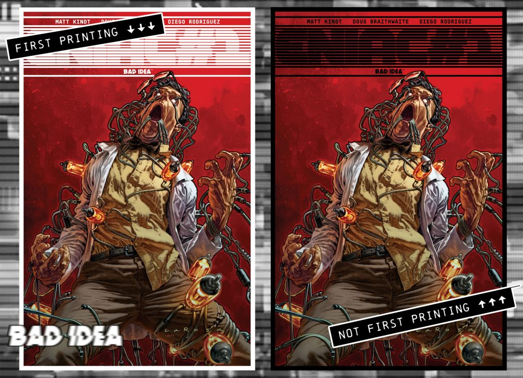 Bad Idea Rejects New Printing Variants, Announces Perennial NOT FIRST PRINTING