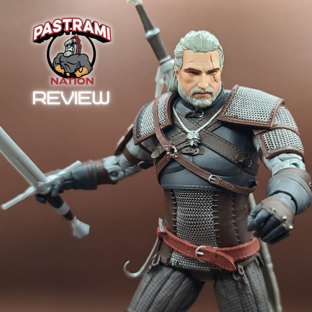 Action Figure Review: McFarlane Toys The Witcher-Geralt