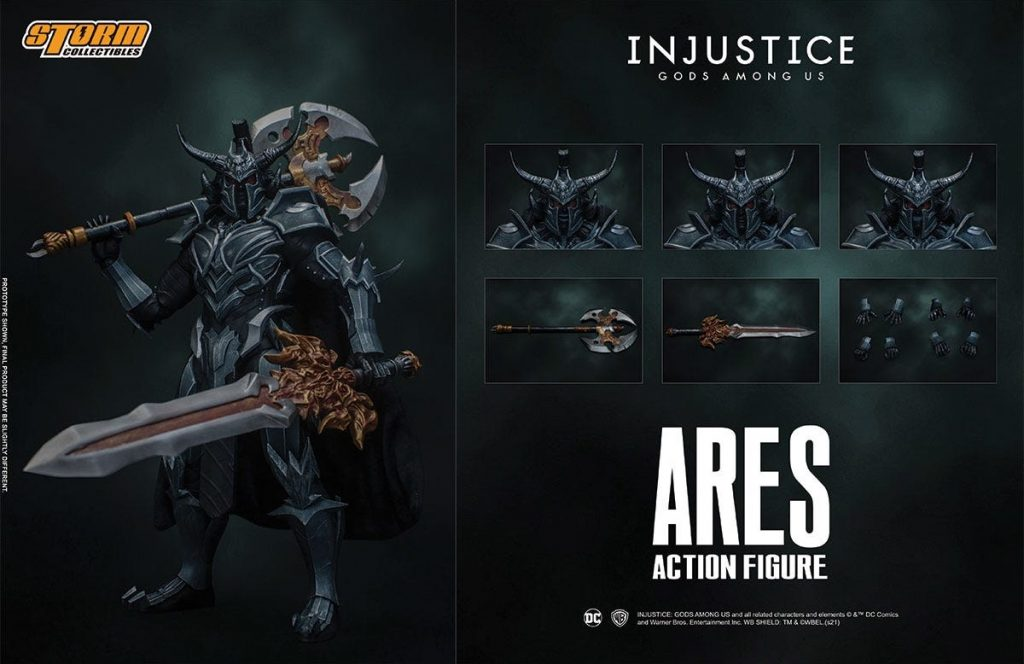 Bluefin Announces Injustice: Ares Figure from Storm Collectibles