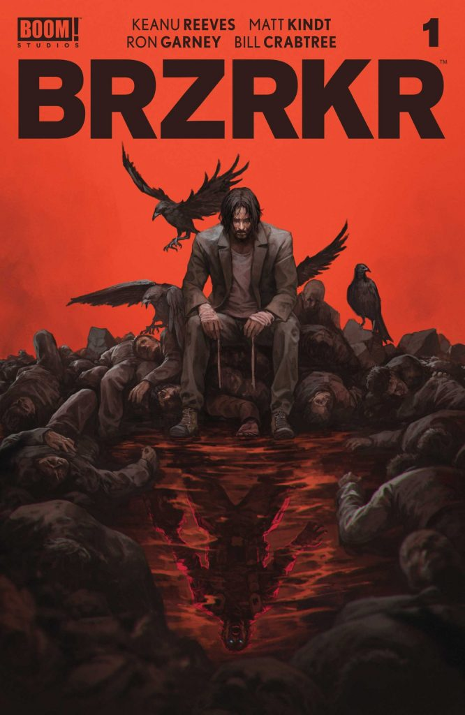 Comic Book Review: BRZRKR #1