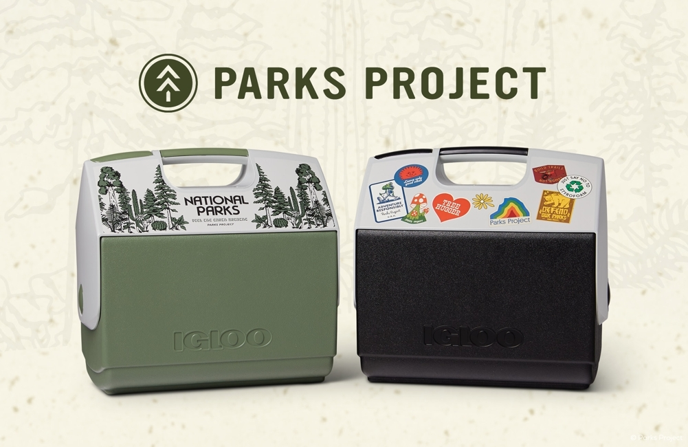 Igloo and Parks Project Team up to Help Fund Public Lands Conservancy With New, Recycled ECOCOOL Playmate Coolers