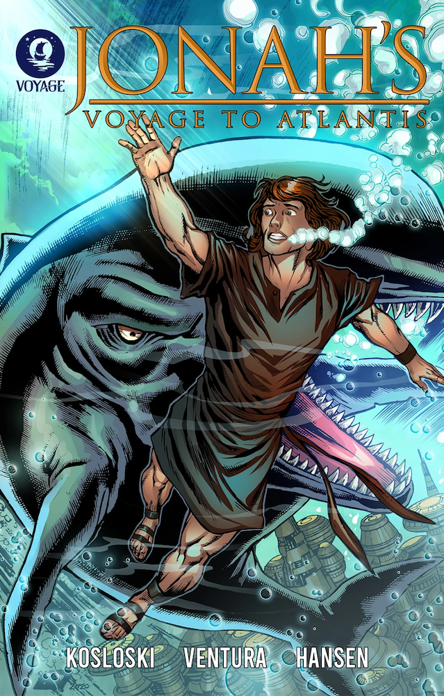 Comic Book Review: Jonah's Voyage to Atlantis