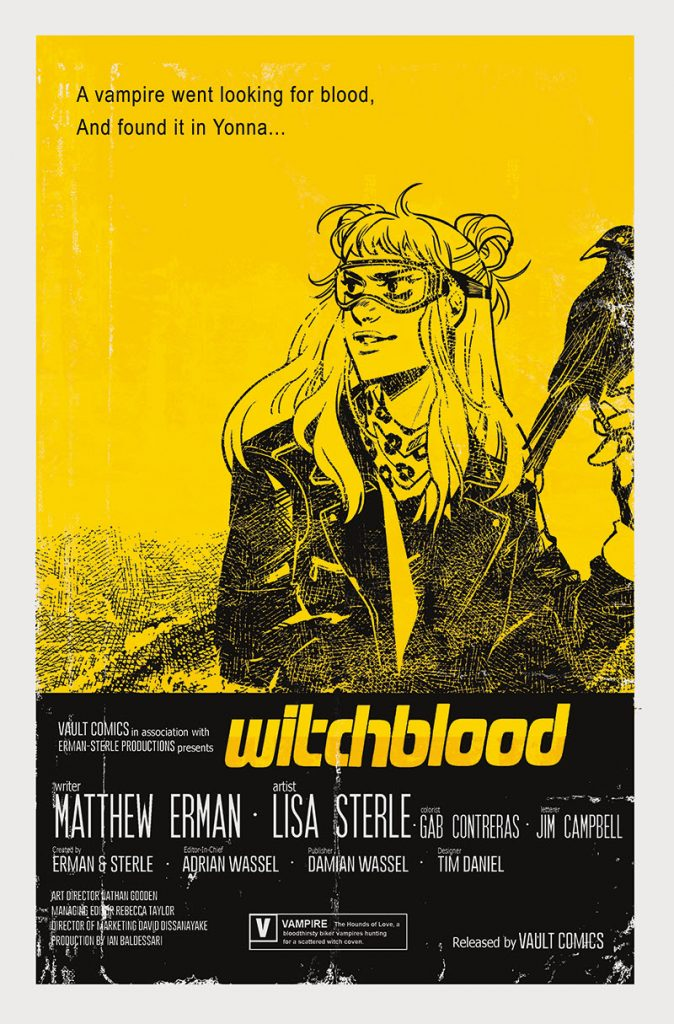 Get Your Hands on the Rare Glow-in-the-Dark Witchblood #1 Variant
