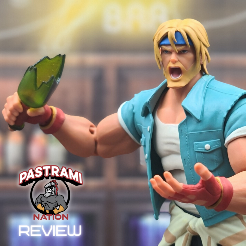 Action Figure Review: Streets of Rage 4 Axel Stone