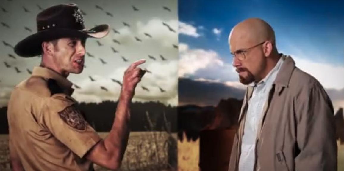 Epic Rap Battles Of History: Rick Grimes Vs Walter White