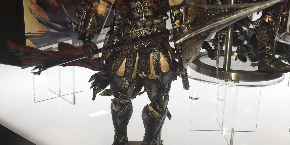SDCC 2015: Square Enix- Play Arts Kai
