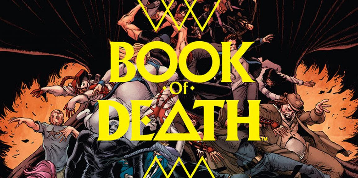 Valiant's BOOK OF DEATH #1 (of 4) Reaps Instant Sell-Out, Second Printing Coming in August