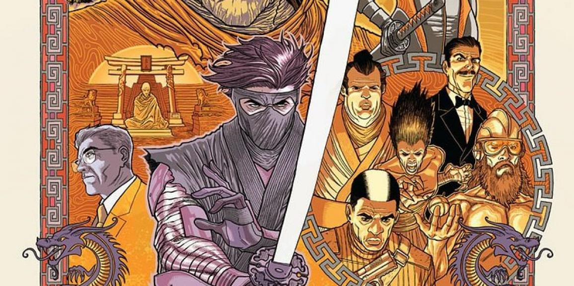 Ninjak #23 Review: Sharpening the Seven Blades