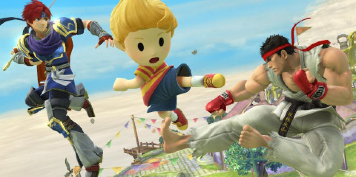 Street Fighter Icon Ryu Joins the Roster of Super Smash Bros. for Nintendo 3DS / Wii U