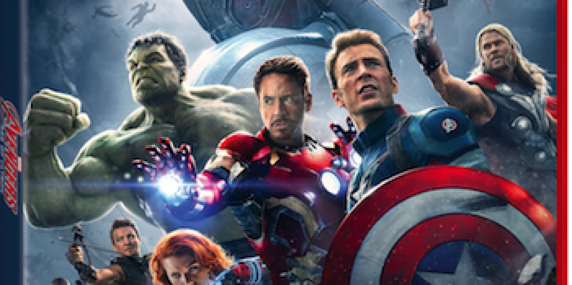 Marvel's Avengers: Age of Ultron on Blu-ray Combo Pack Releases on 10/2