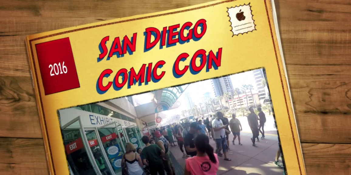 SDCC 2016- A First Person View Video of the Monster of all Cons