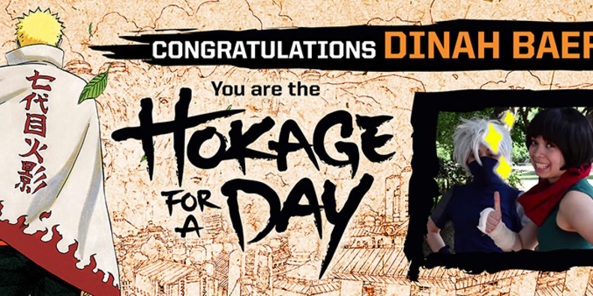 VIZ Media Announces the Grand Prize Winner of Hokage for a Day Contest