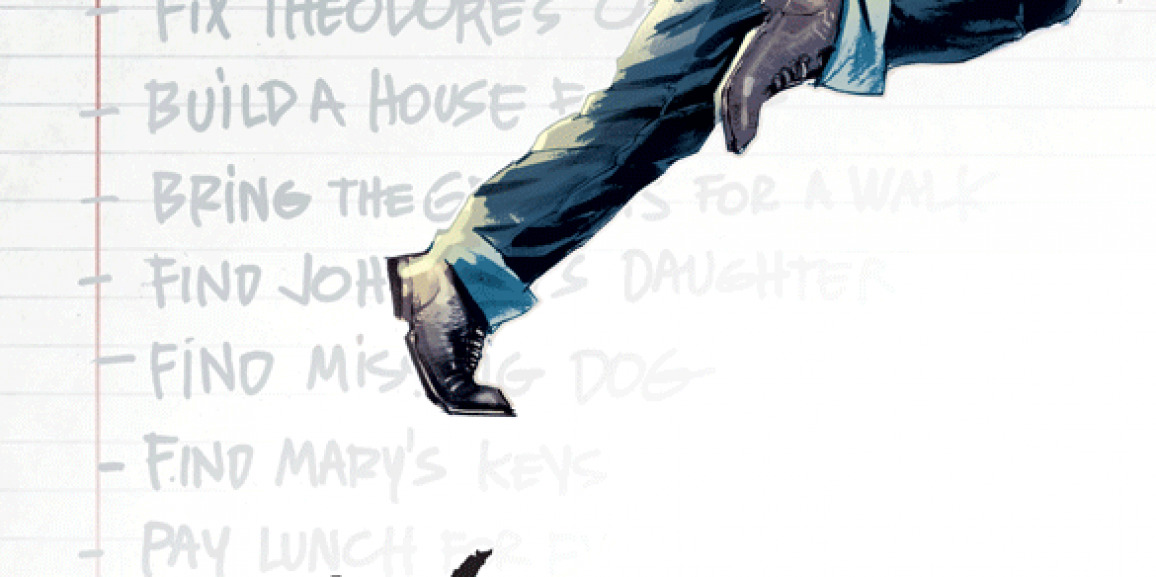 Huck #2 Review- The Secret is Out