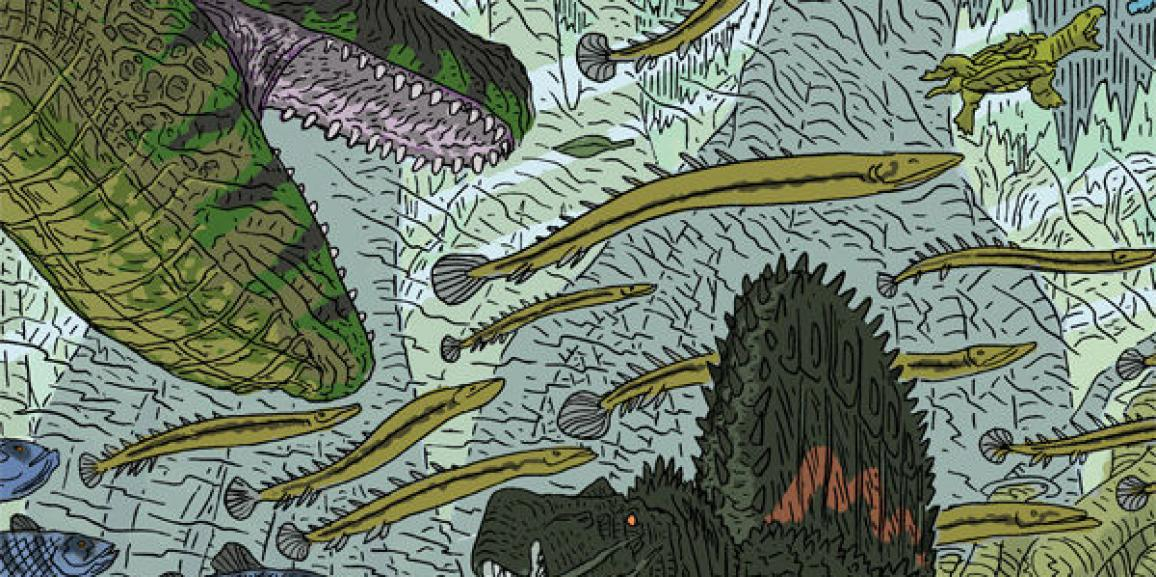 Age of Reptiles: Ancient Egyptians #1 Review- Dinosaurs + Silent Comic Book= Greatness