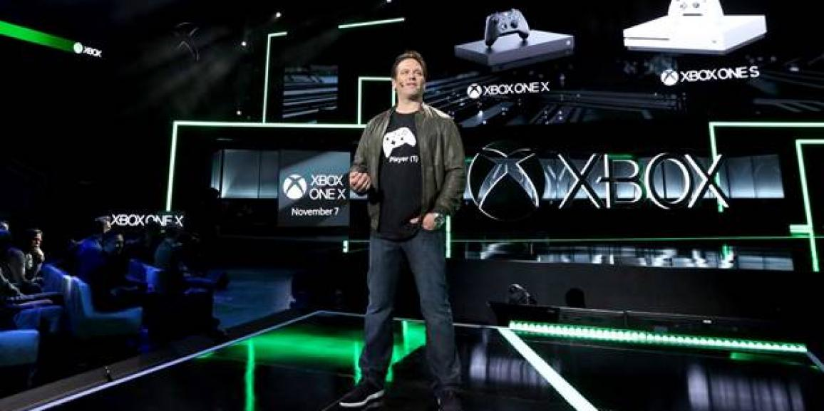 Microsoft premieres Xbox One X, world's most powerful console