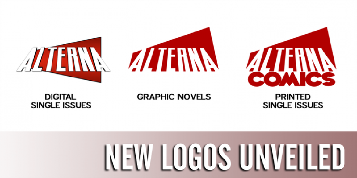 New Year, New Logo, and Newsprint for Alterna Comics