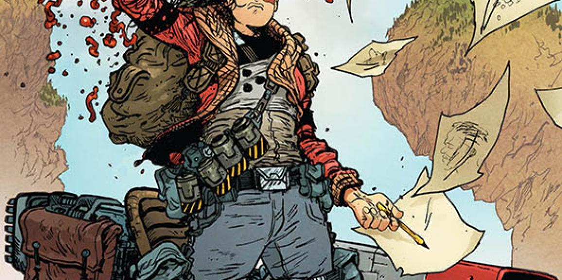 Space Mullet Creator Launches New Series Extremity
