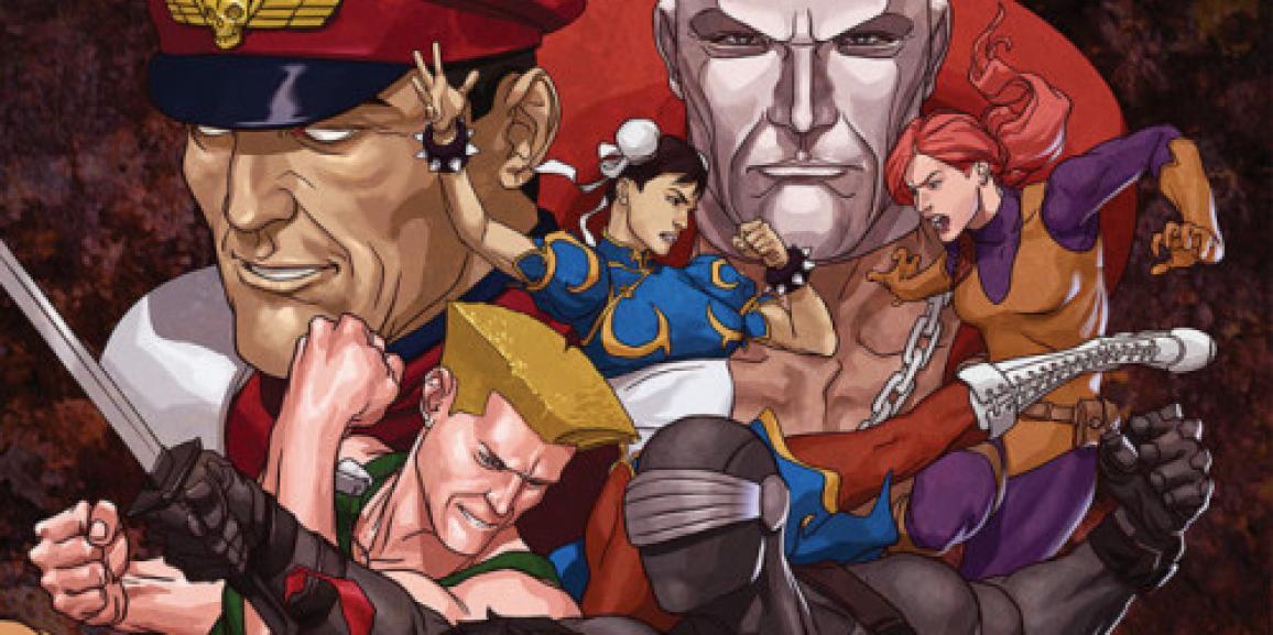Street Fighter X GI Joe #1 Review