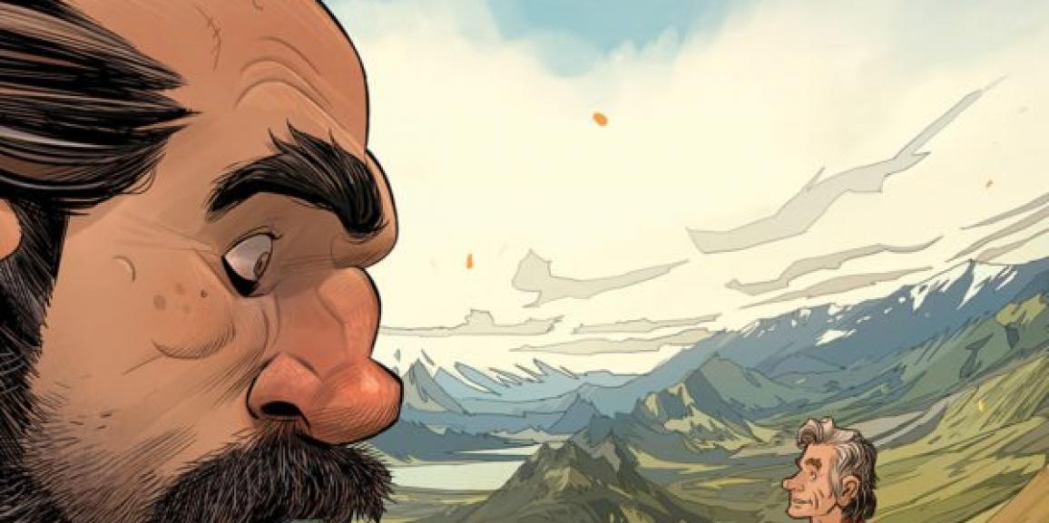 Jim Henson's The Storyteller: Giants #1 Review: Just Peachy