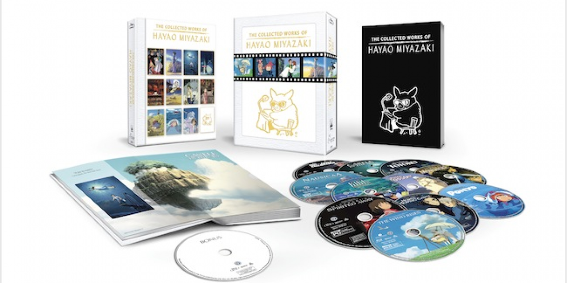 Anime Fans Rejoice! The Collected Works Of Hayao Miyazaki Available on Blu-ray Exclusively Through Amazon.com on November 17