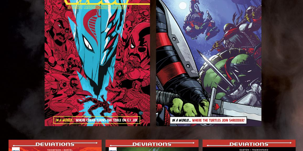IDW Explores Alternate Timelines In 'Deviations'
