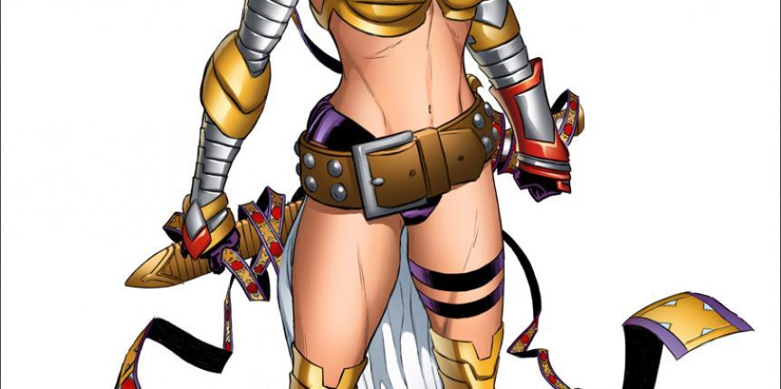 Marvel Comics Unveils the New Angela Design by Joe Q!
