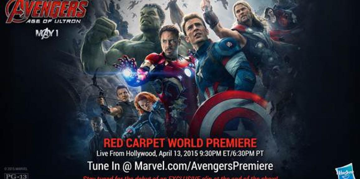 Marvel Takes Over Hollywood for Marvel's Avengers: Age of Ultron Premiere