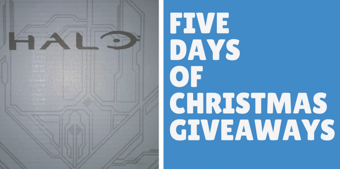 Five Days of Christmas Giveaways! Day 1: SDCC Halo Exclusive Figure