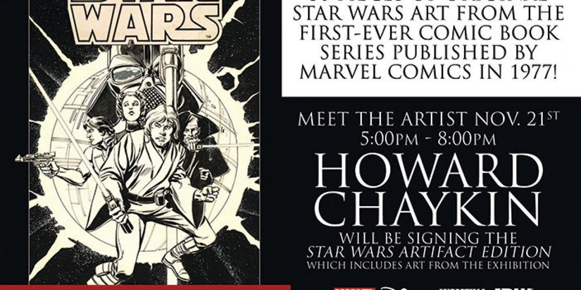 San Diego Comic Art Gallery Presents The Comic Book Art of Star Wars