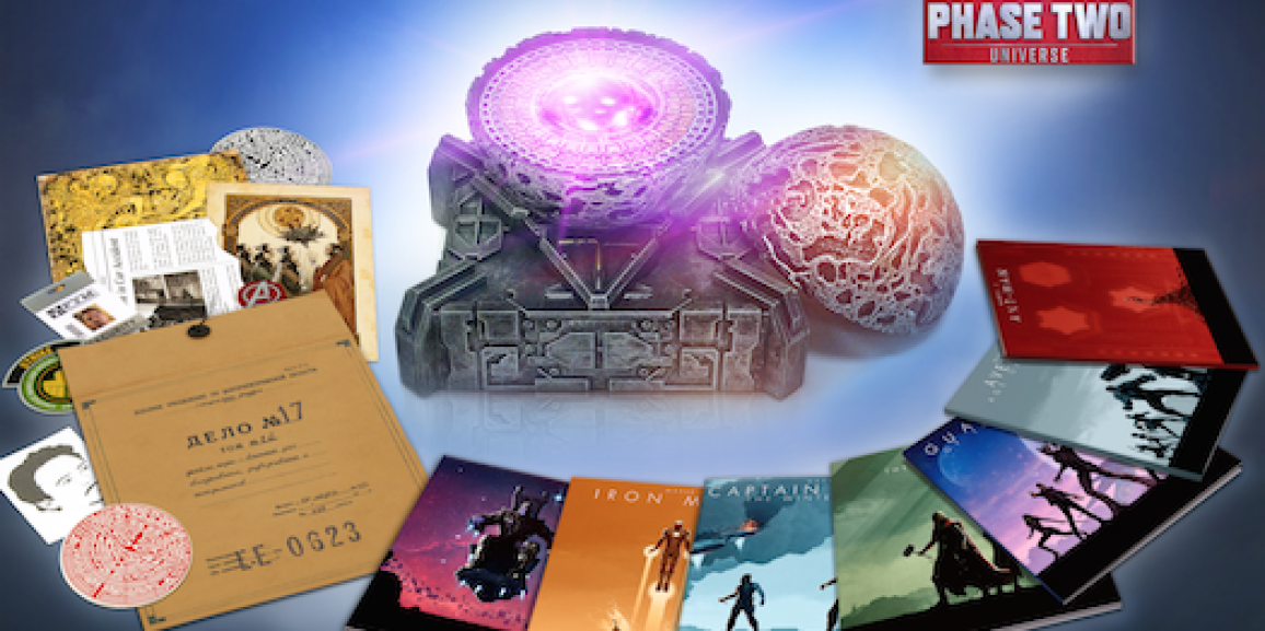 Marvel Cinematic Universe: Phase Two 13 Disc Set Hits December 8th, Only on Amazon