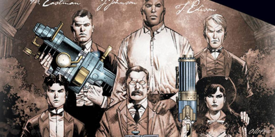 Rough Riders Volume 1 Review: History is Alive and Kicking