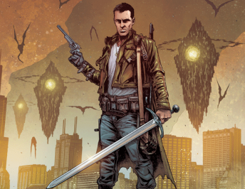 The Realm #1 Review: Bounty Hunter at the End of the World