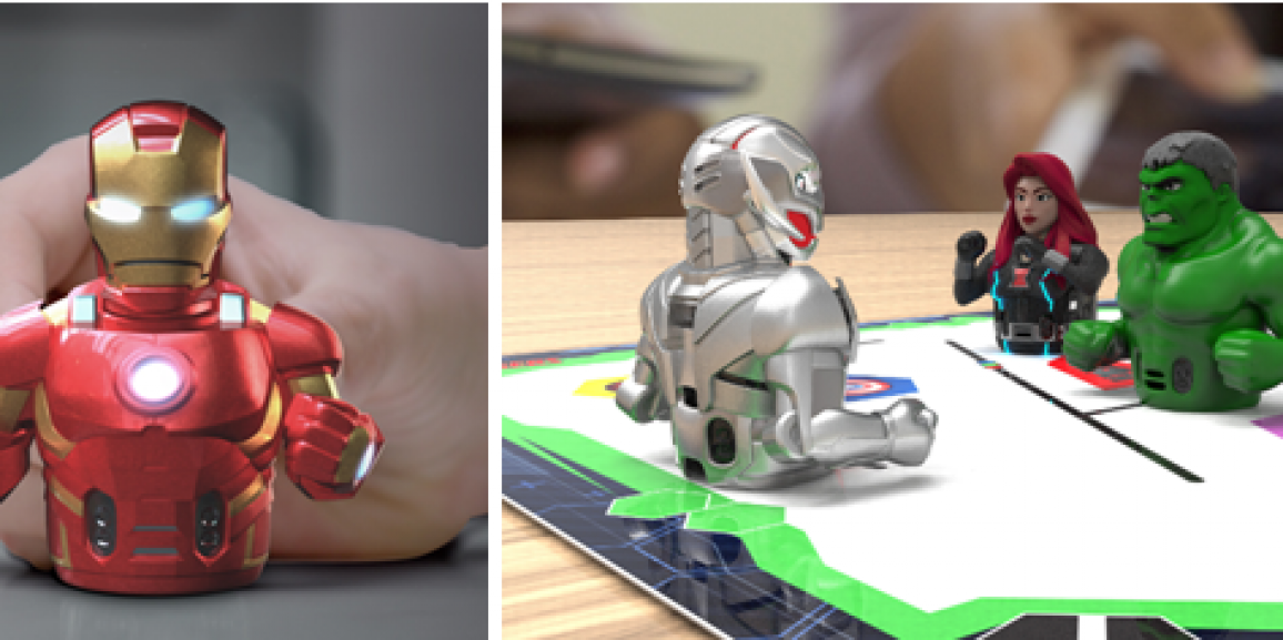 Ozobot Unveils Marvel's The Avengers Action Skins for Evo Robot