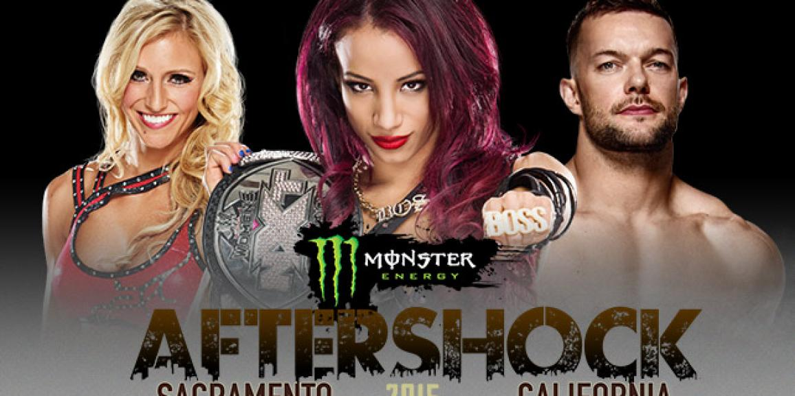 WWE NXT to take over Monster Energy AFTERSHOCK 2015
