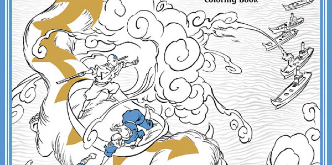 Dark Horse Launches Adult Coloring Books Program