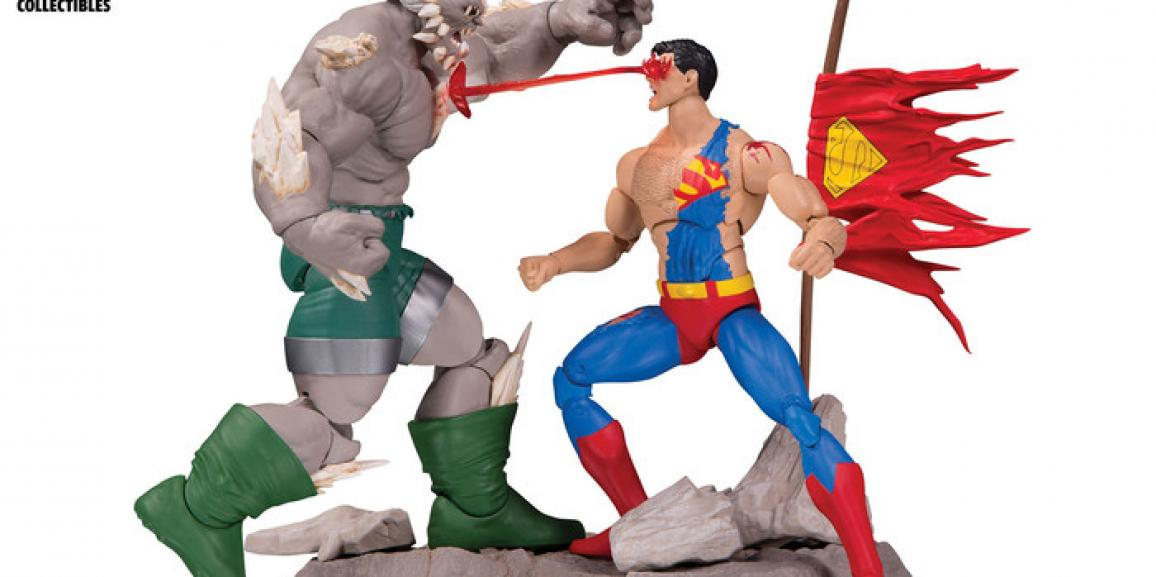 Toy Fair 2017: DC Collectibles Reveals Superman/Doomsday 2-Pack, Bombshells and More