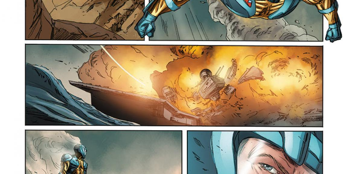 KINDT and BRAITHWAITE Launch UNITY #1 – A New Ongoing Series Coming from VALIANT in November!